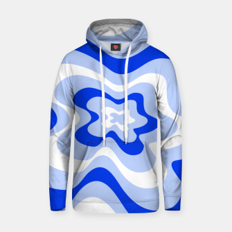 Miniaturka Abstract pattern - blue and white. Hoodie, Live Heroes