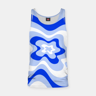 Miniaturka Abstract pattern - blue and white. Tank Top, Live Heroes