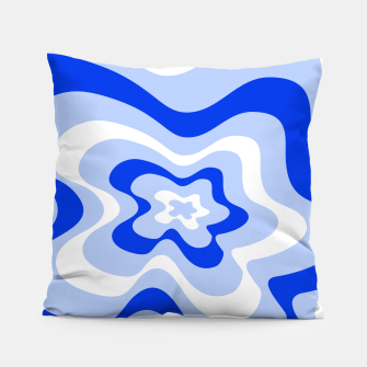 Miniaturka Abstract pattern - blue and white. Pillow, Live Heroes