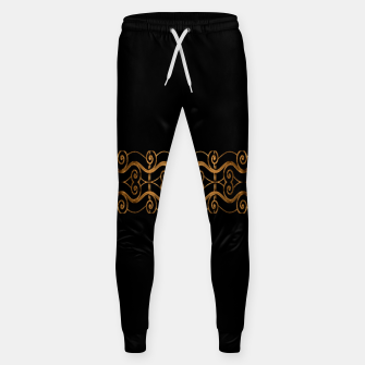 Miniaturka Luxury Ornate Minimal Style Dark Print Sweatpants, Live Heroes