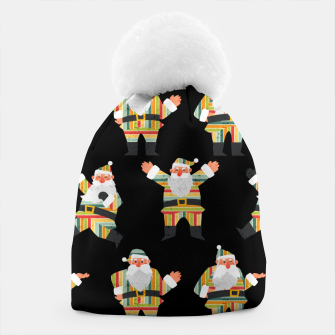 Thumbnail image of Cute Santa Claus Retro Style Merry Christmas Xmas Gifts  Beanie, Live Heroes
