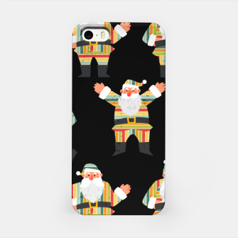 Thumbnail image of Cute Santa Claus Retro Style Merry Christmas Xmas Gifts  iPhone Case, Live Heroes