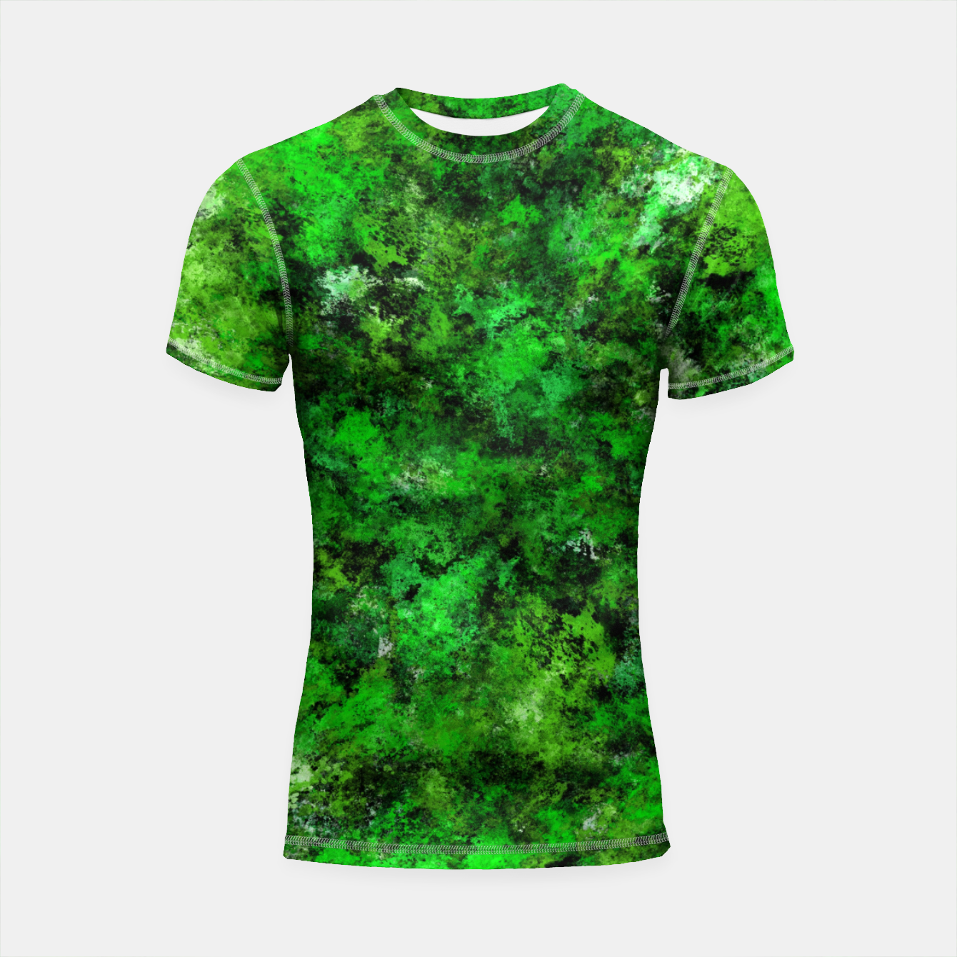 Image of An inconvenient obstacle Shortsleeve rashguard - Live Heroes