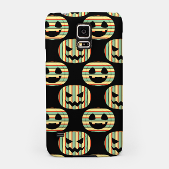 Thumbnail image of Pumpkin Face Happy Halloween Gifts Retro Style Pattern Samsung Case, Live Heroes