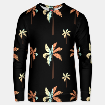 Thumbnail image of Vintage Coconut Palm Tree Sunset Tropical Beach Paradise Unisex sweater, Live Heroes