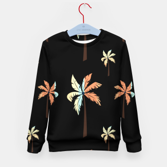 Imagen en miniatura de Vintage Coconut Palm Tree Sunset Tropical Beach Paradise Kid's sweater, Live Heroes