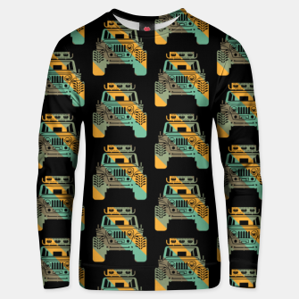 Thumbnail image of Off Road Retro Style 4x4 Vehicle Car Lover Offroad Dirt Unisex sweater, Live Heroes