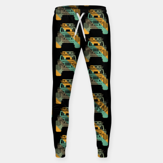 Thumbnail image of Off Road Retro Style 4x4 Vehicle Car Lover Offroad Dirt Sweatpants, Live Heroes