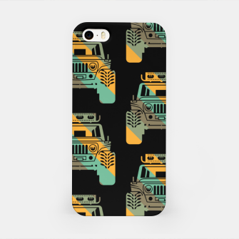 Thumbnail image of Off Road Retro Style 4x4 Vehicle Car Lover Offroad Dirt iPhone Case, Live Heroes