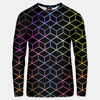 Thumbnail image of Colorful Cubes Unisex sweater, Live Heroes