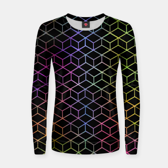 Thumbnail image of Colorful Cubes Women sweater, Live Heroes