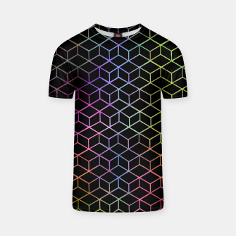Thumbnail image of Colorful Cubes T-shirt, Live Heroes