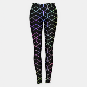 Thumbnail image of Colorful Cubes Leggings, Live Heroes