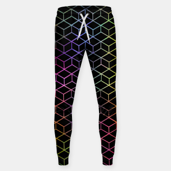 Thumbnail image of Colorful Cubes Sweatpants, Live Heroes