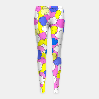 Thumbnail image of Candied Popcorn Girl's leggings, Live Heroes