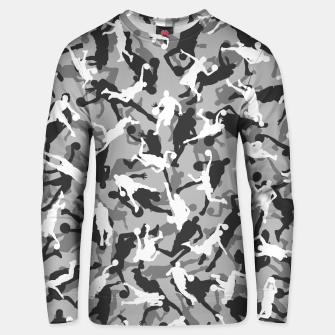 Thumbnail image of Basketball Camo URBAN WINTER Unisex sweater, Live Heroes