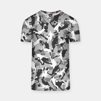 Thumbnail image of Basketball Camo URBAN WINTER T-shirt, Live Heroes