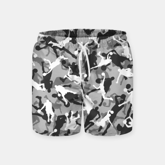 Thumbnail image of Basketball Camo URBAN WINTER Swim Shorts, Live Heroes