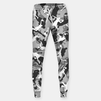 Thumbnail image of Basketball Camo URBAN WINTER Sweatpants, Live Heroes