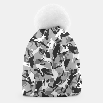 Thumbnail image of Basketball Camo URBAN WINTER Beanie, Live Heroes