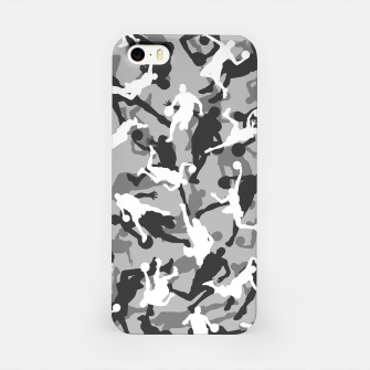 Thumbnail image of Basketball Camo URBAN WINTER iPhone Case, Live Heroes