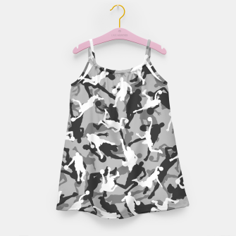 Thumbnail image of Basketball Camo URBAN WINTER Girl's dress, Live Heroes