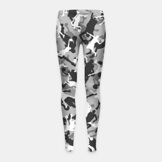 Thumbnail image of Basketball Camo URBAN WINTER Girl's leggings, Live Heroes