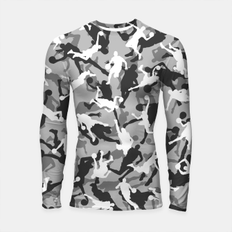 Thumbnail image of Basketball Camo URBAN WINTER Longsleeve rashguard , Live Heroes