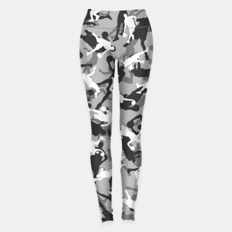 Thumbnail image of Basketball Camo URBAN WINTER Leggings, Live Heroes