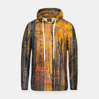 Miniatur Stunning gold autumn forest Hoodie, Live Heroes