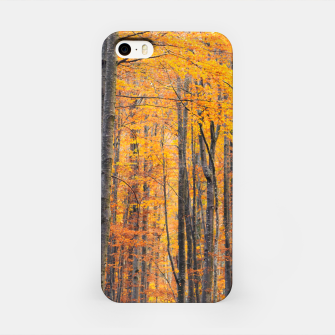Miniatur Stunning gold autumn forest iPhone Case, Live Heroes