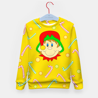 Thumbnail image of Christmas Elf Kid's sweater, Live Heroes