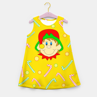 Thumbnail image of Christmas Elf Girl's summer dress, Live Heroes