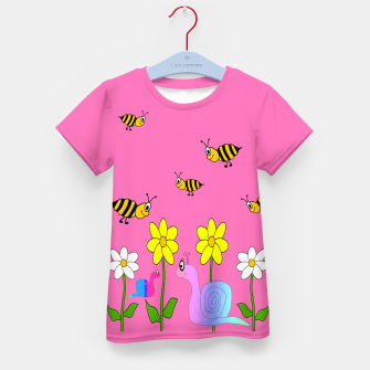Thumbnail image of Cute Nature Kid's t-shirt, Live Heroes