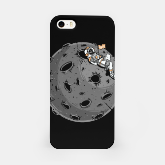 Miniatur Chill Astronaut iPhone Case, Live Heroes