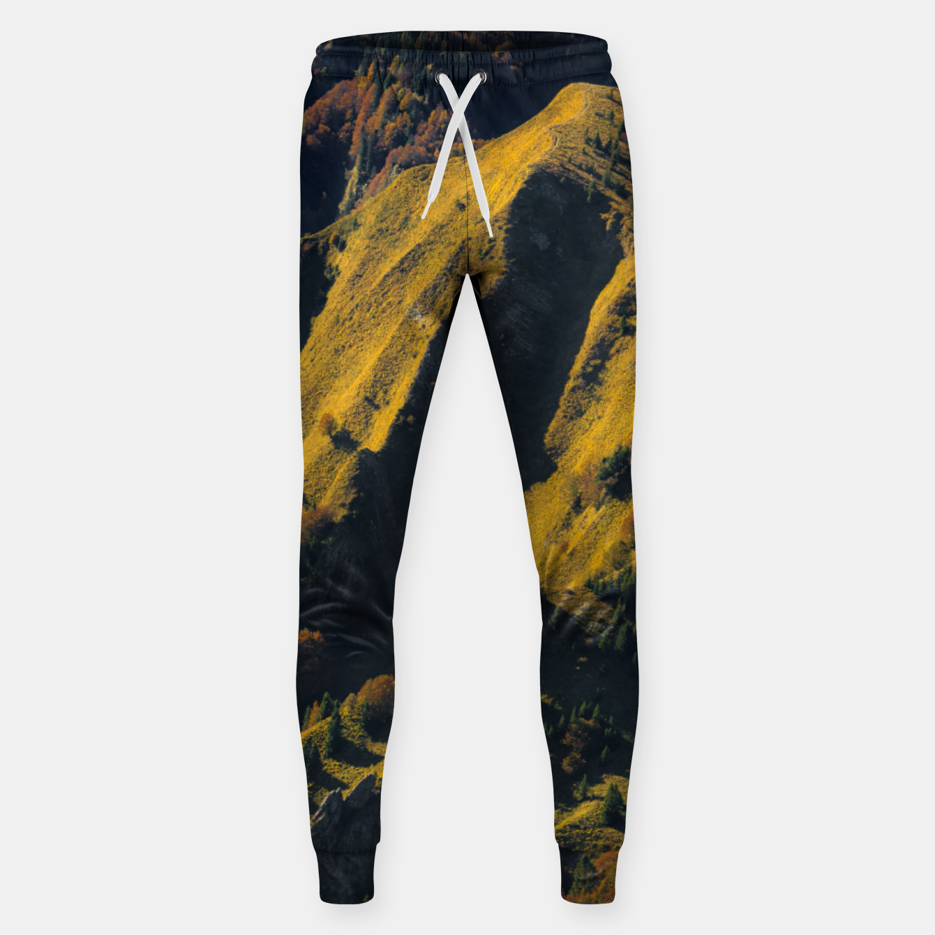 Image of Grass covered mountain in autumn Sweatpants - Live Heroes