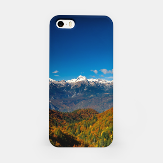 Thumbnail image of Stunning autumn scenery with a view on mountain Triglav, Slovenia iPhone Case, Live Heroes