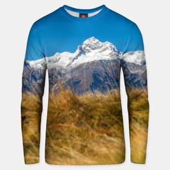 Thumbnail image of Majestic mountain Triglav, Slovenia Unisex sweater, Live Heroes