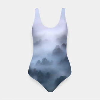 Thumbnail image of Morning fog rolling through trees Swimsuit, Live Heroes