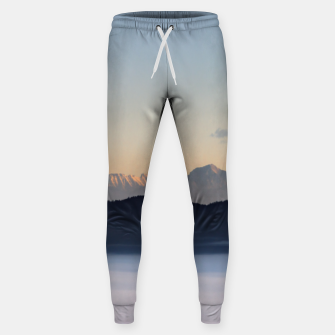 Thumbnail image of Slovenian mountains and morning fog in valley Sweatpants, Live Heroes
