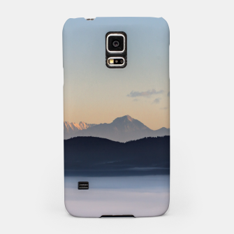 Thumbnail image of Slovenian mountains and morning fog in valley Samsung Case, Live Heroes