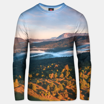 Thumbnail image of Stunning autumn scenery from Šilentabor, Slovenia Unisex sweater, Live Heroes