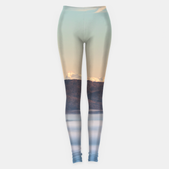 Thumbnail image of Majestic mountain Triglav with fog in valley Leggings, Live Heroes