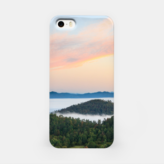 Thumbnail image of Stunning sunrise from Šilentabor, Slovenia iPhone Case, Live Heroes