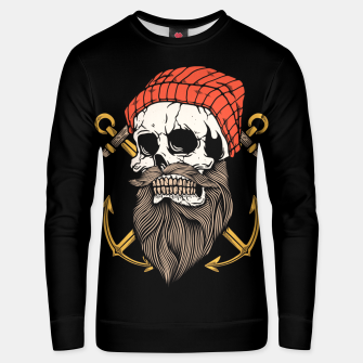 Thumbnail image of Skull Anchor Unisex sweater, Live Heroes