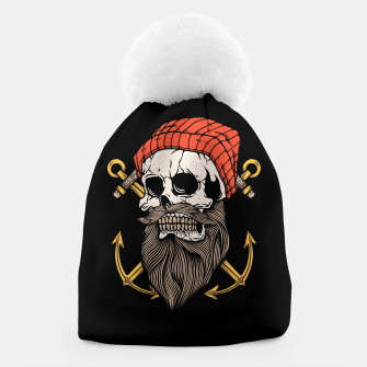 Thumbnail image of Skull Anchor Beanie, Live Heroes