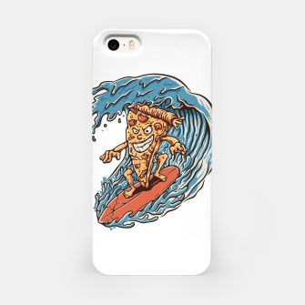 Thumbnail image of Pizza Surfer iPhone Case, Live Heroes
