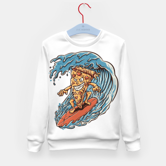 Imagen en miniatura de Pizza Surfer Kid's sweater, Live Heroes