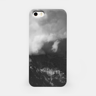 Thumbnail image of Majestic mountain underneath clouds iPhone Case, Live Heroes