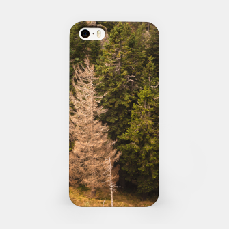 Thumbnail image of Old spruce tree standing proud iPhone Case, Live Heroes